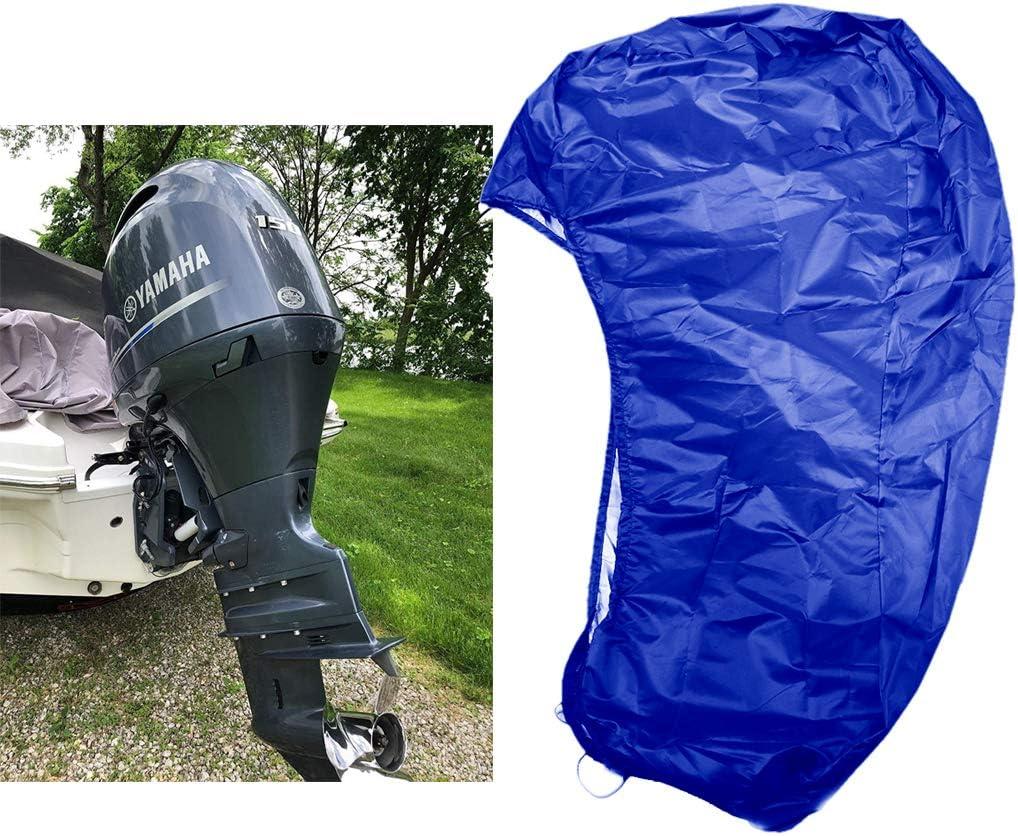 FLR 15-20HP Outboard Boat Motor Waterpro Blue Cover Seasonal Wrap Introduction Genuine Lightweight