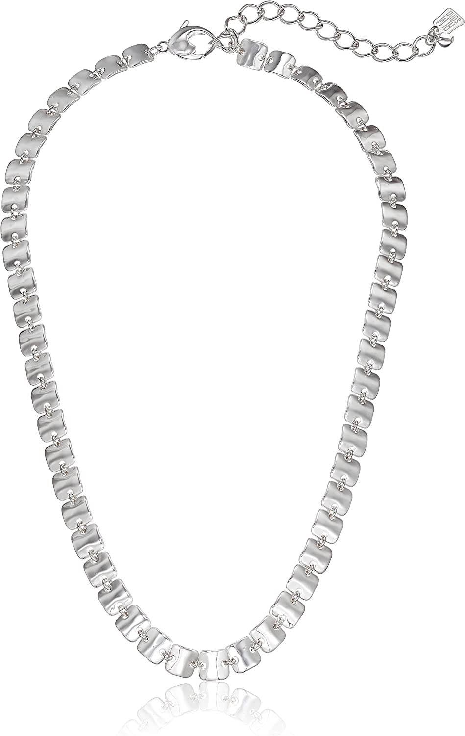 Robert Lee Morris Soho Women's Sculptural Animer and price revision Square Collar Link Nec A surprise price is realized