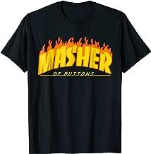 Button Masher Gamer Vaporwave Streetwear Aesthetics T-Shirt