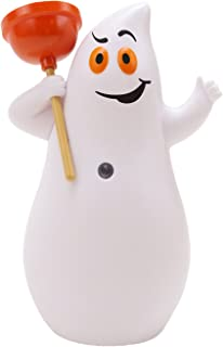 Hallmark Jokin in The John Ghost Figurine, Motion-Activated Humor Figurine, Plays 7 Spooky Phrases, Halloween