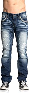 Men's Ripped Gage Fleur Outlaw Jeans