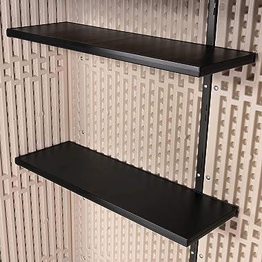 Lifetime 60326 Vertical Storage Shed, Pack of 1, Desert Sand