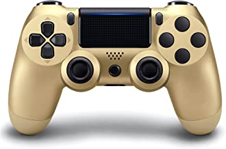 MINSWC Compatible with PS4 Controller Wireless Compatible with Playstation 4 / Slim/Pro, with Upgraded Joystick/1000mAh Re...