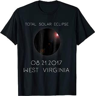 Total Solar Eclipse West Virginia August 21st 2017 T-Shirt