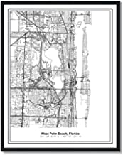 street map of west palm beach florida