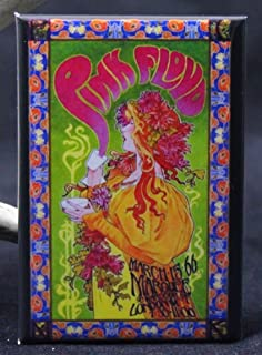 Pink Floyd at the Marquee Concert Poster Refrigerator Magnet.