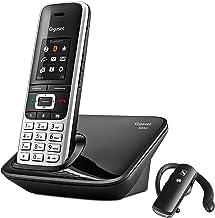 Gigaset S850+BT. Teléfono inalámbrico Manos Libres con conexión Bluetooth y Auriculares incluidos.