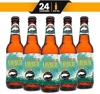 Cerveza Artesanal Importada, Goose Island Midway IPA, 24 piezas de 355 ml c/u