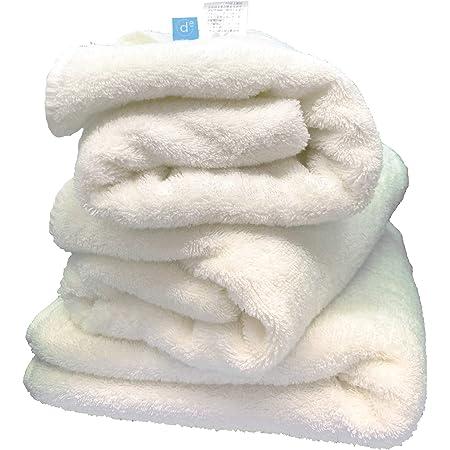 OZ UOMO ミニバスタオル まるで雲 50cm 100cm ふわふわ モチモチ 白 ホワイト(3)