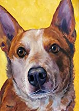 Diamond Painting Cattle Dog Full Drill Art Home Wall Decor by LUHSICE, 45x65cm