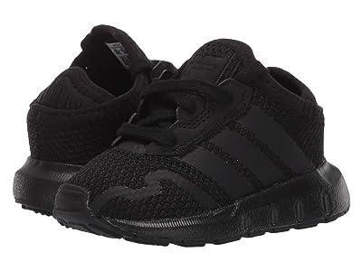 adidas Originals Kids Swift ESS I (Infant/Toddler) (Core Black/Core Black/Core Black) Kids Shoes