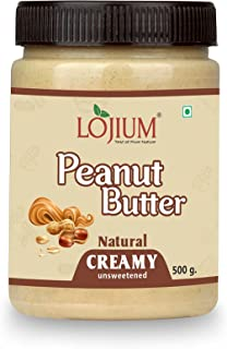 YINOR PEANUT BUTTER -NATURAL(CREAMY)| Unsweetened | Made with 100% Roasted Peanuts | 30% Protein | No Added Sugar | No Add...