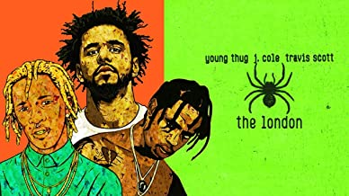 United Mart Poster The London - Young Thug (ft. J.Cole & Travis Scott) Album Cover Poster Size 12 x 18 Inch Rolled Poster