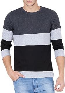 Style Shell Men's Cotton T-Shirt (Tri_Ylw)