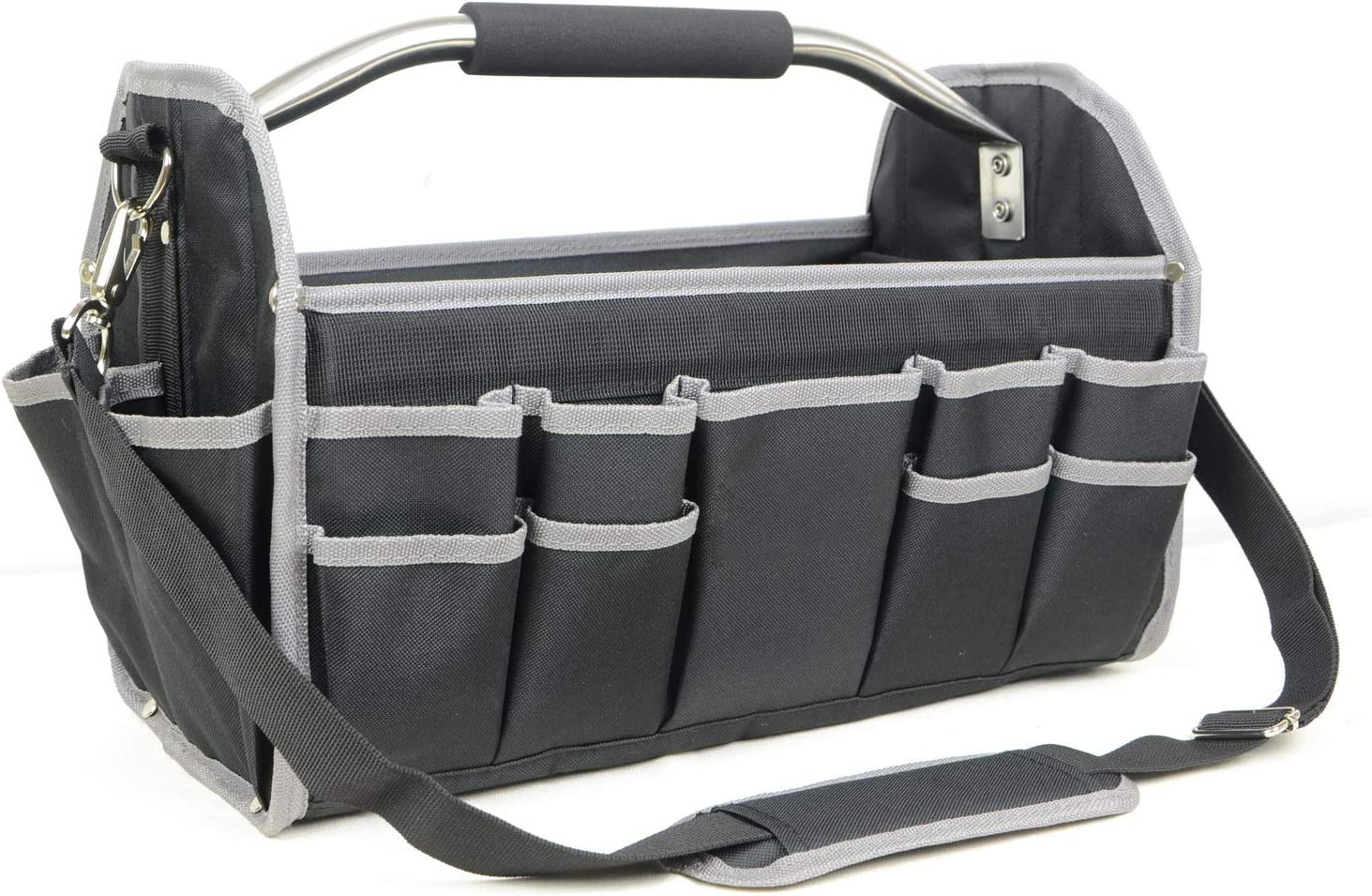 """N\C 16"""" Collapisble Open Tool Tote Bag $19.49 Coupon"""