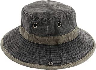 Men's Sun Hat Fisherman Hat UV Protection Outdoor Hiking Fishing Washed Cotton Cap
