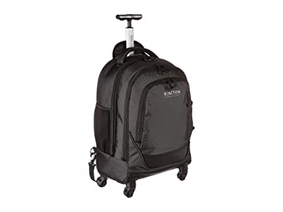 Kenneth Cole Reaction 21 Wheeled Book Bag 17 Laptop Tablet Business Travel Backpack/Carry-On Bag (Pindot Charcoal) Backpack Bags