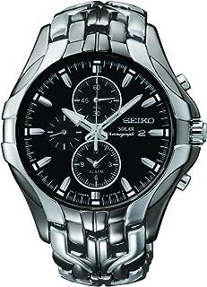 Seiko Men SSC139P-9 Year-Round Chronograph Solar Powered Multicolour Watch