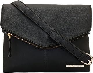 Lapis O Lupo Women's Sling Bag (LLSL0011BK_Black)