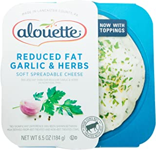 Alouette Reduced Fat Garlic Herb, 6.5 oz