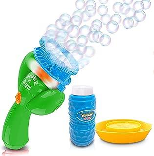 girl blowing bubbles art