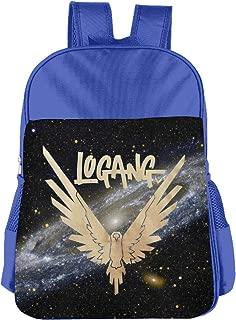 Maverick Bird Gold Logan Paul Kids School Backpack Carry Bag For Girls Boys