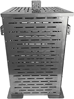Professional Grade Products 9900000 High Grade Stainless Steel Burn Barrel Incinerator Cage, 24