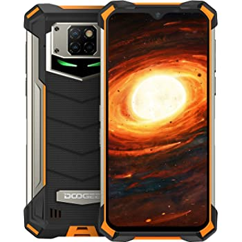 Telefono Móvil Libre, DOOGEE S88 Pro Android 10 Smartphone 4G, Batería 10000mAh 6GB + 128GB, Cámara Triples 21MP+Cámara Frontal 16MP, 6.3 FHD+ Pulgada IP68/IP69K Móvil Resistente, LED/NFC/GPS, Naranja: Amazon.es: Electrónica