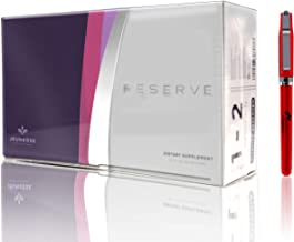 Resveratrol Jeunesse Reserve Supplement Antioxidant Fruit Blend 30 Packets/Box, Reserve Dietary Supplement Comes with Free Inspiration Industry New York Pen (4)