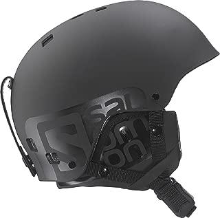 Salomon Brigade Ski/Snowboard Helmet 2016 Matte Black (Medium)