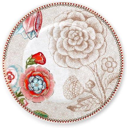 Preisvergleich für Pip Studio Plate Spring to Life | white | 17 cm