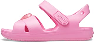 Crocs Kids' Classic Cross-Strap Sandals