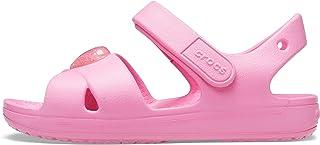 Crocs Classic Cross Strap Sandal Kids, Sandalia con Pulsera Niñas
