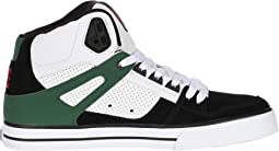 White/Green/Black