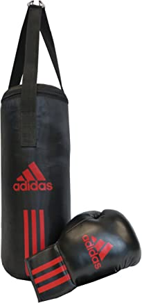 784a390732 adidas ADIBACJP Kit de boxe pour enfant Noir/rouge 43 x 19 cm