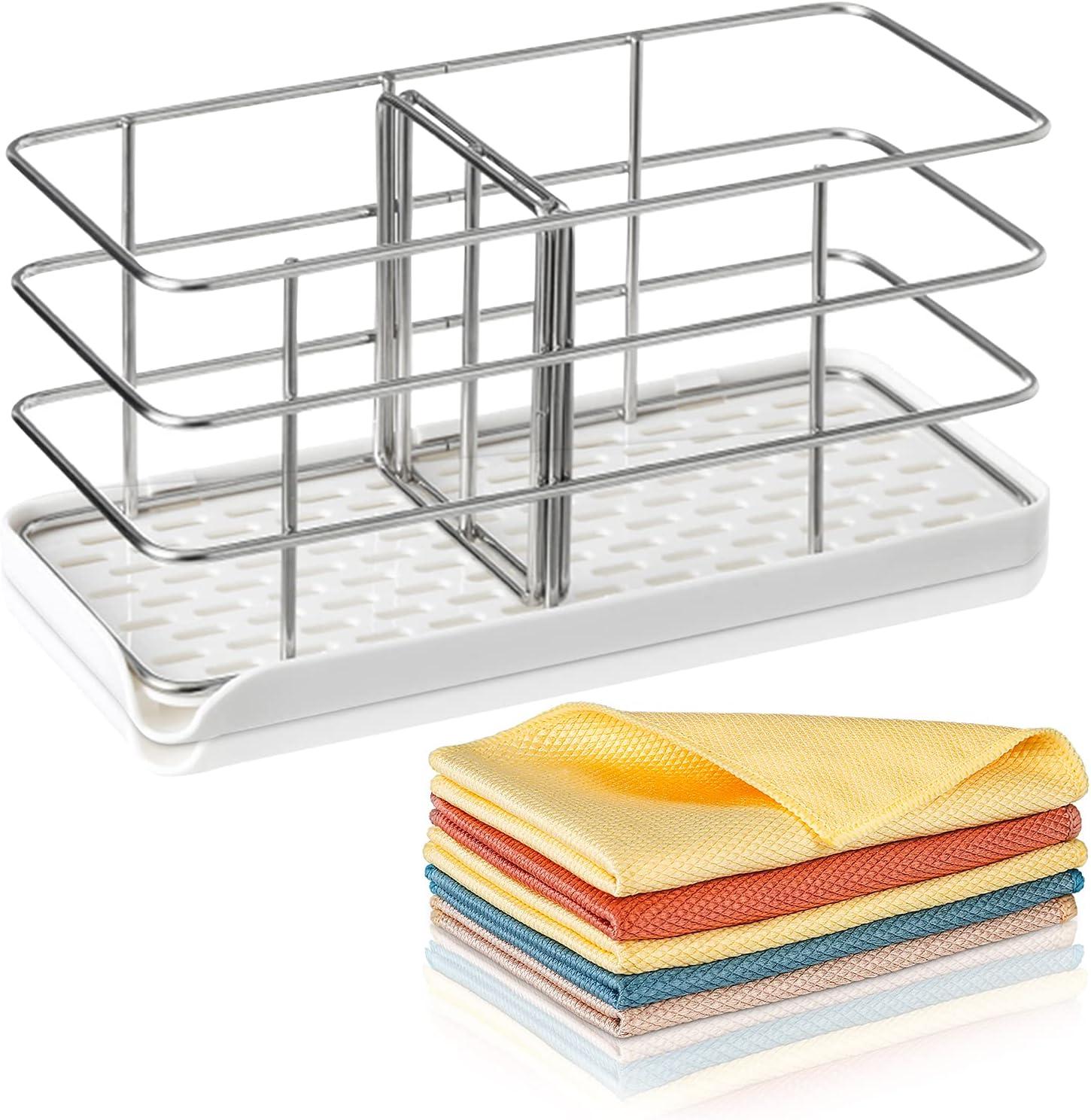 Max 88% OFF Sponge Holder for Kitchen Sink Partition GridïUnder blast sales with Adjustable