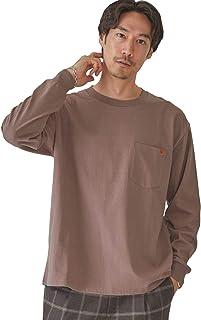 [グリーンレーベルリラクシング] UNIVERSAL OVERALL ユニバーサルオーバーオール 別注 ロゴ 長袖 Tシャツ 32124991698 メンズ