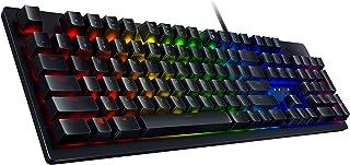 Razer Huntsman Gaming Keyboard: Fastest Keyboard Switches Ever - Clicky Optical Switches - Customizable Chroma RGB Lightin...