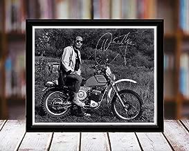 Hunter S Thompson Autograph Replica Print - Author - 5x7 Desktop Framed Print - Landscape