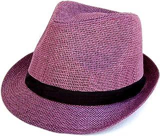 bf4fb4b48a9 Amazon.com  Purples - Fedoras   Hats   Caps  Clothing