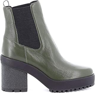 HOGAN Luxury Fashion Womens HXW4750BZ70LF7T814 Green Ankle Boots | Fall Winter 19