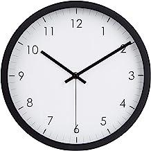 AmazonBasics, Reloj despertador,Negro,