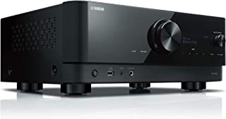 Yamaha 7.2 Channel, Wi-Fi, Bluetooth, MusicCast, DTS:X, Dolby Atmos with Height Virtualizer AV Receiver - RXV6A (Black) (R...