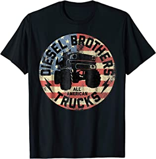 Flag Truck Seal Vintage Graphic T-Shirt