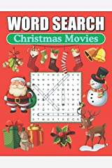 Word Search Christmas Movies: Large Print Word Find Puzzles Paperback