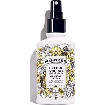 Poo-Pourri Before-You-go Toilet Spray, Original Citrus Scent, 4 Fl Oz