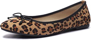 CINAK Women Ballet Flats- Casual Slip-on Comfort Walking Round Toe Loafers Shoes