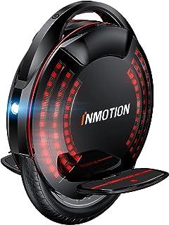 InMotion V8F E-Unicycle ، یکچرخه برقی 16 اینچی ، اتوماتیک خود متعادل کننده اتوماتیک حسی ، یک سیکل الکتریکی قابل حمل با فرمان چمدان ، اسکوتر تک چرخ با 1000W موتور 518 وات باتری