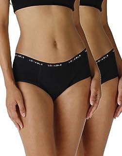 Lovable Period Panties Culotte da Ciclo Mestruale Flusso Abbondante (Pacco Da 2) Donna (Pacco da 2) Donna