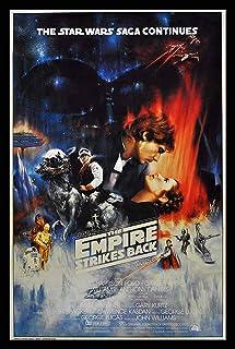スターウォーズ エピソード 帝国の逆襲 ハンソロ Star Wars Episode V、アート映画のポスターフレーム、装飾が施された部屋、最高の贈り物のサイズ16 x 12inch